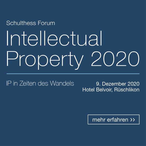 Intellectual Property Tagung 2020